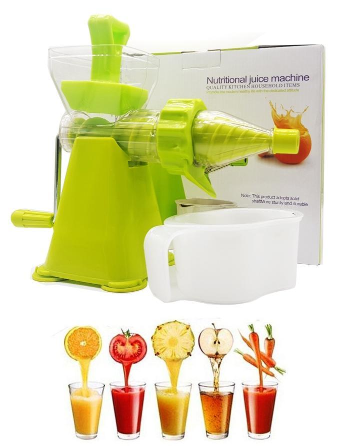 Manual Juicer Machine Green