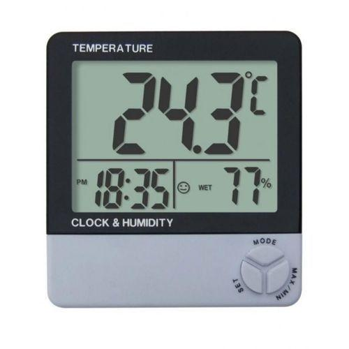 LCD Digital Thermometer  HTC-1 - White