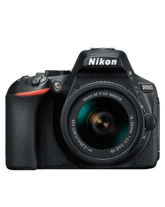 DSLR D5600 with AF-P DX NIKKOR - 18-55mm F/3.5-5.6G VR - Black