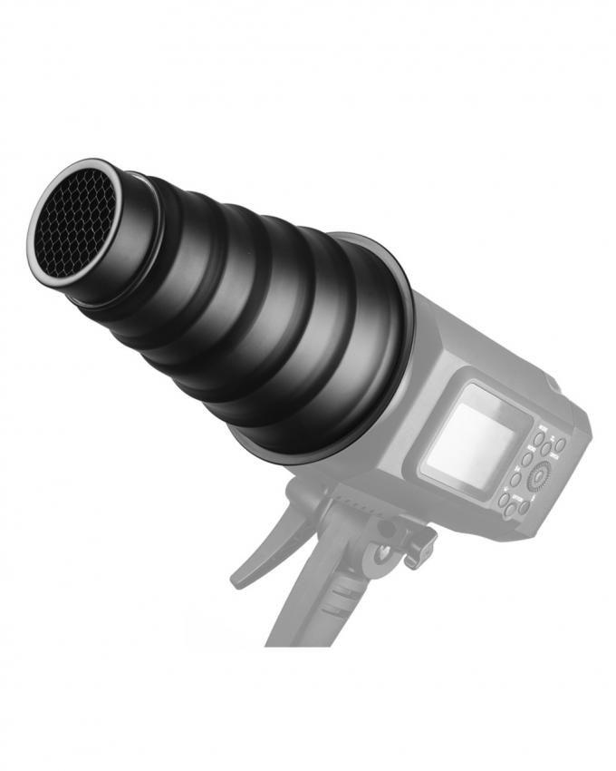 Impact Strobros Snoot For On-Camera Flash - Black