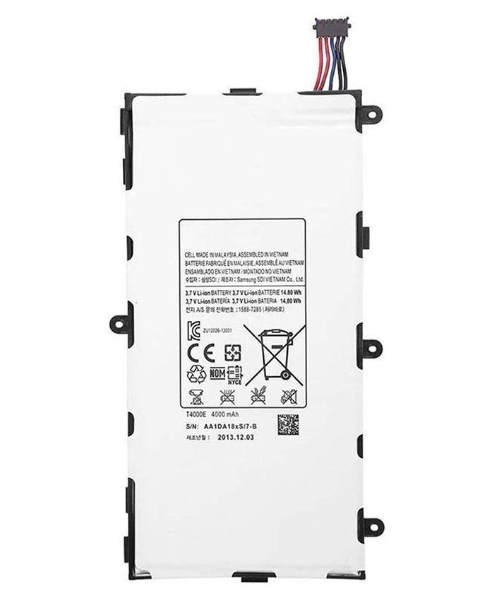 T4000E - Battery For Samsung Galaxy Tab 3 - 4000mAh - Silver