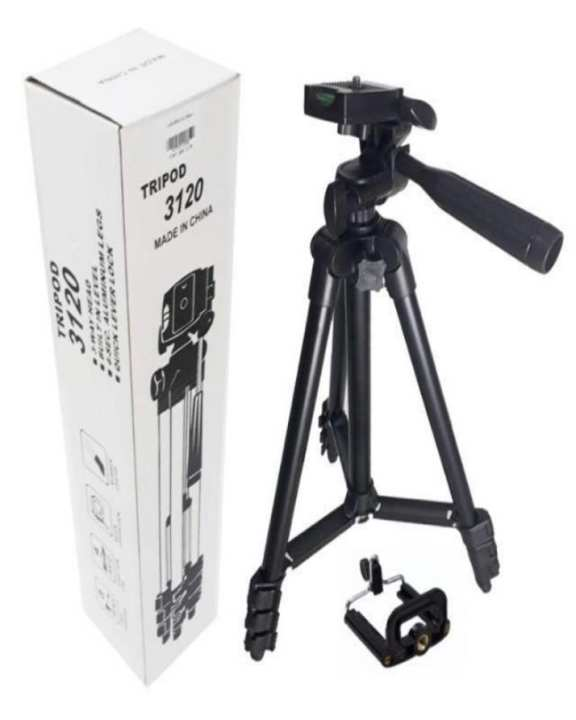 Yunteng Tripod 3120: Best Quality Comfortable Grip Tiktok Tripod Stand For DSLR Camera And Mobile Phones