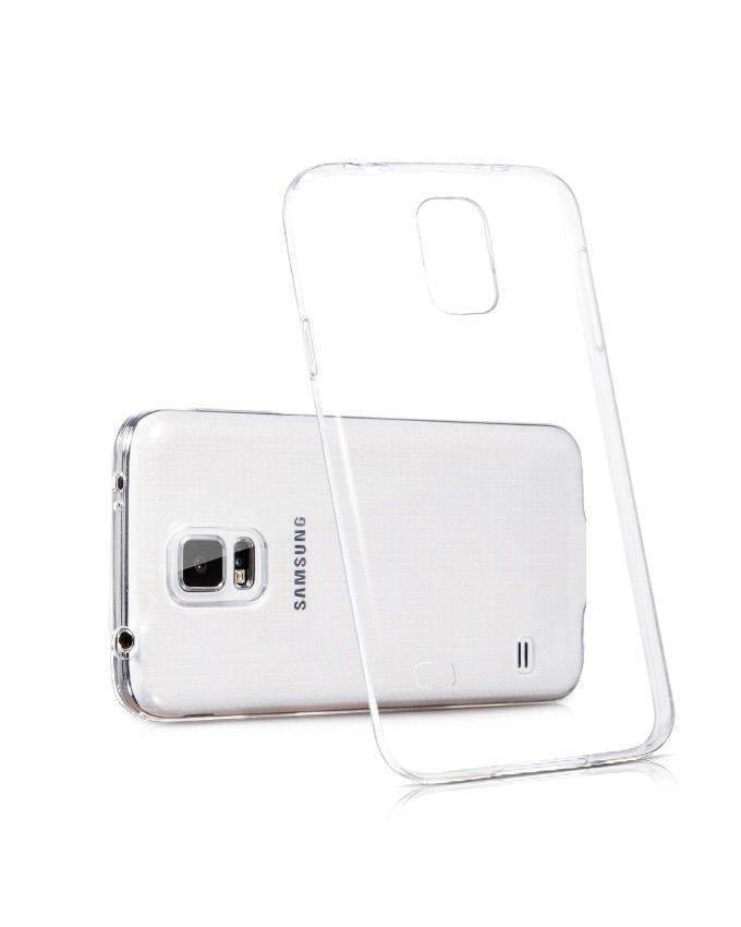 Silicone Cover for Samsung S5 - Transparent