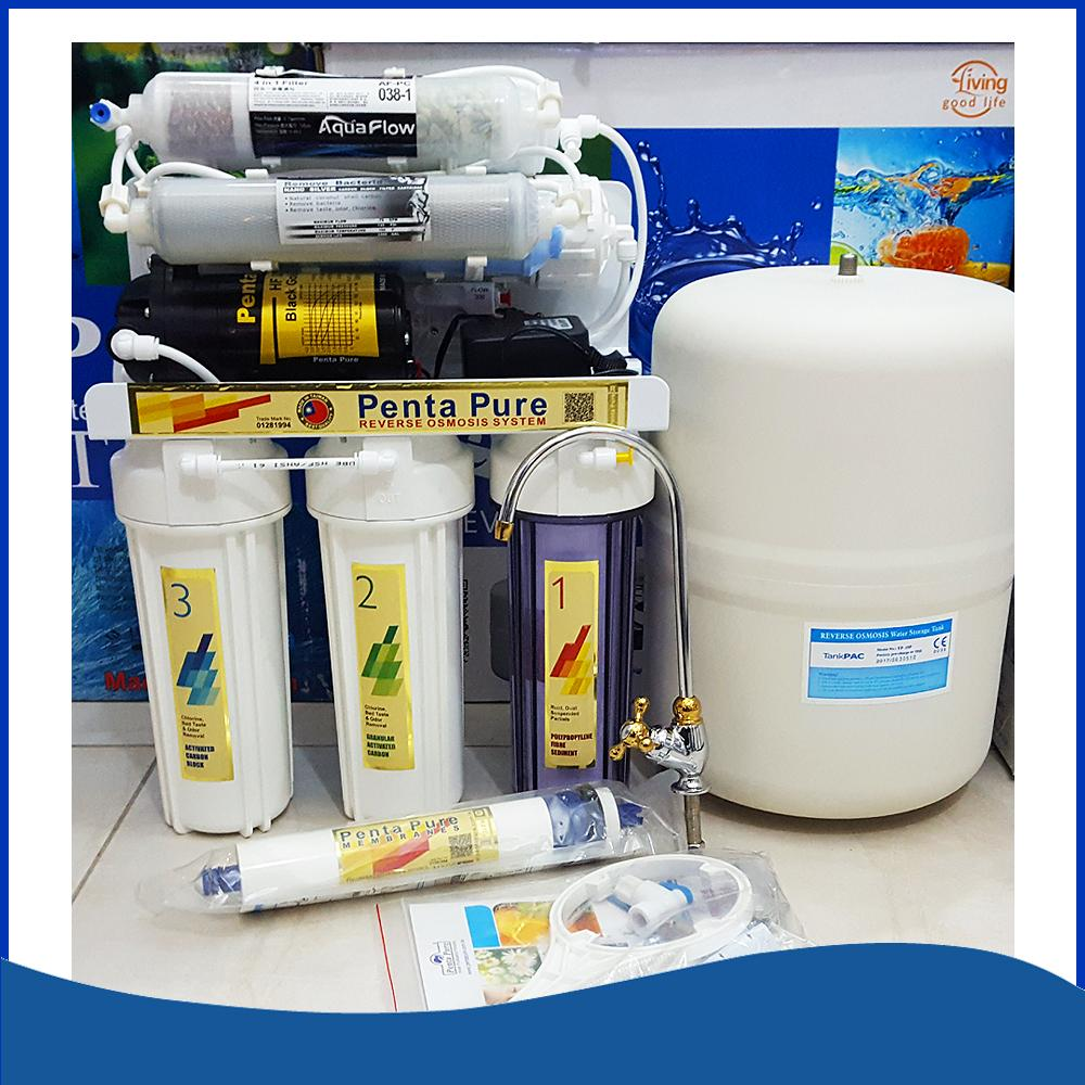 e9c216e2df8 PentaPure RO Water Purifier - 7 Stages Best Water Filter for Home ( 100%  Made