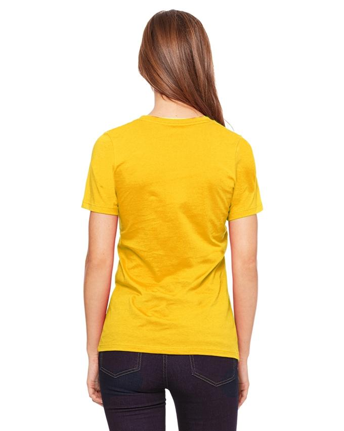 Pack of 2 - Yellow Cotton Printed T-Shirts