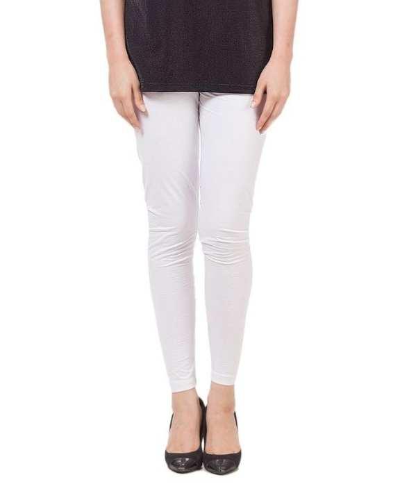 White Cotton Tights For Women