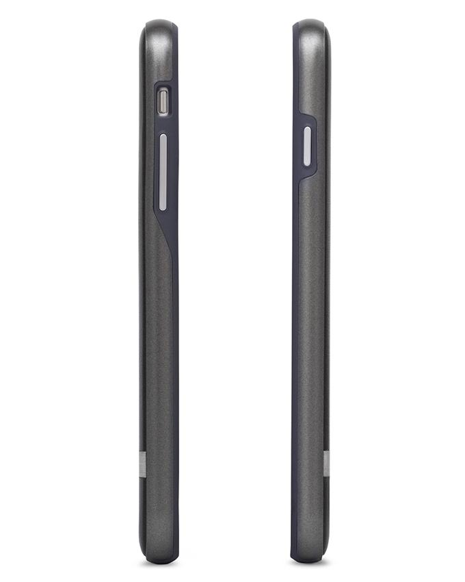 Napa Back Cover For iPhone 7 Plus - Charcoal Black