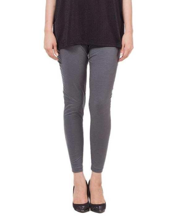 Grey Viscose Tights for Women - LS-FZ-099