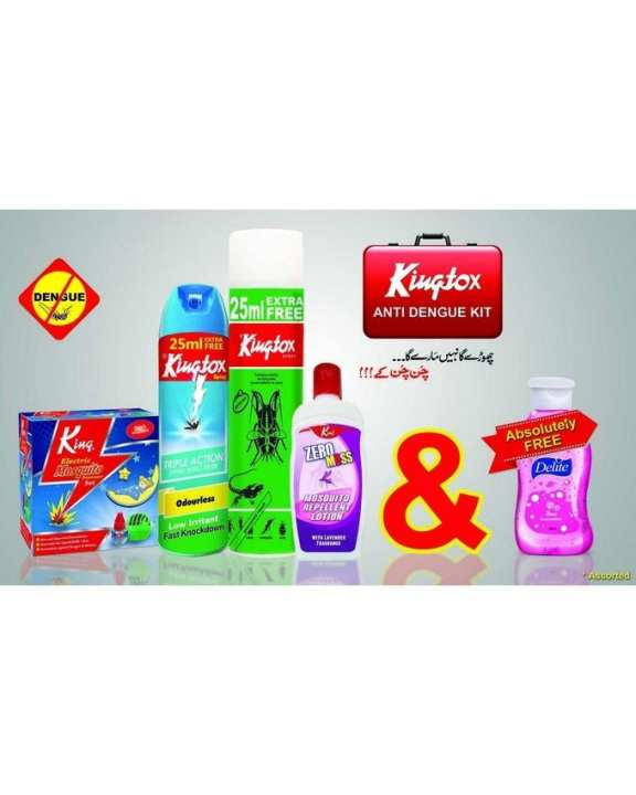 Pack of 5 - Anti-King Dengue Kit - Multicolor