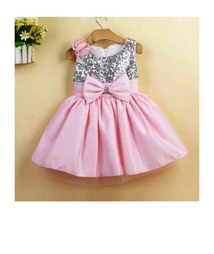 d9005021c6 Elegant Champagne Girls Frocks Designer Baby Clothes Girls