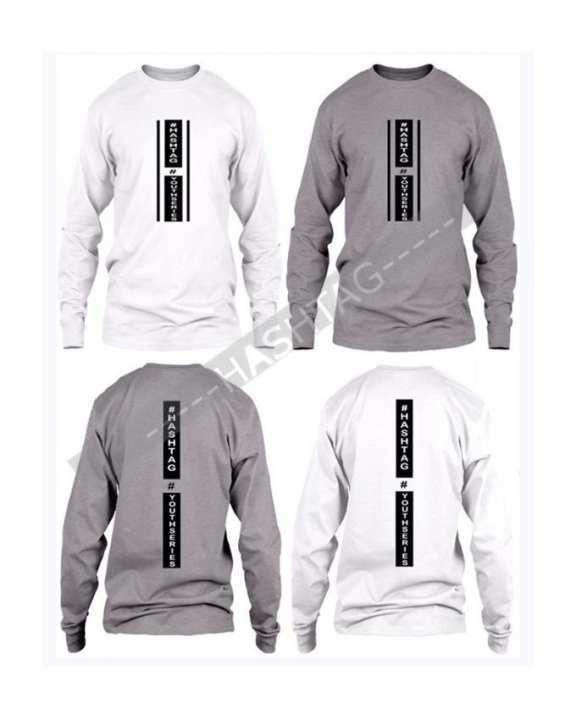 Pack Of 2 - Printed Cotton Full Sleeves  T-Shirt For Men PHFT-02-06