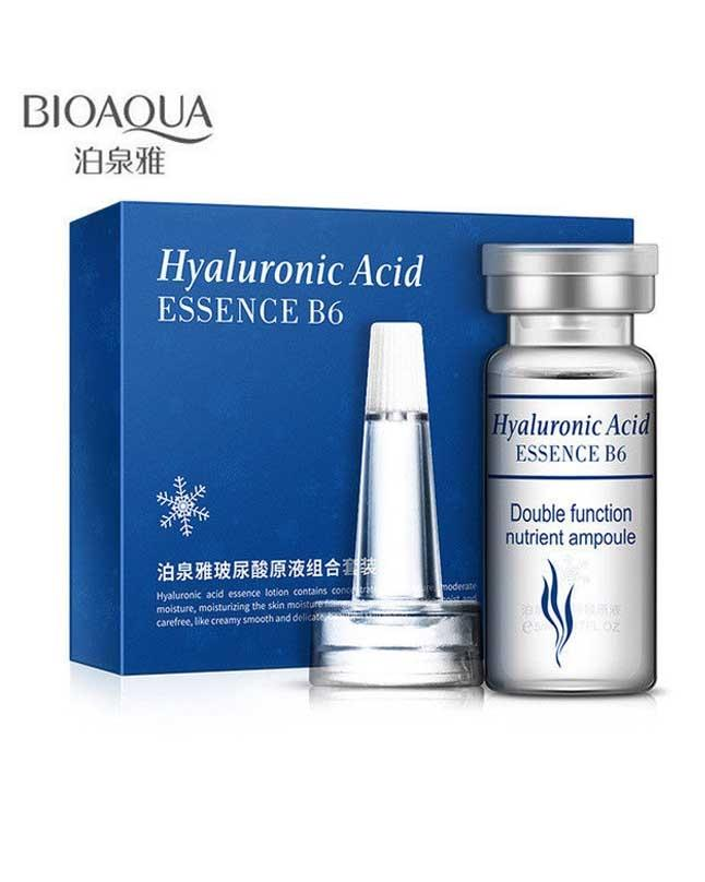 10 Pcs Hyaluronic Acid Essence B6 Facial Skin Collagen Vitamins Serum