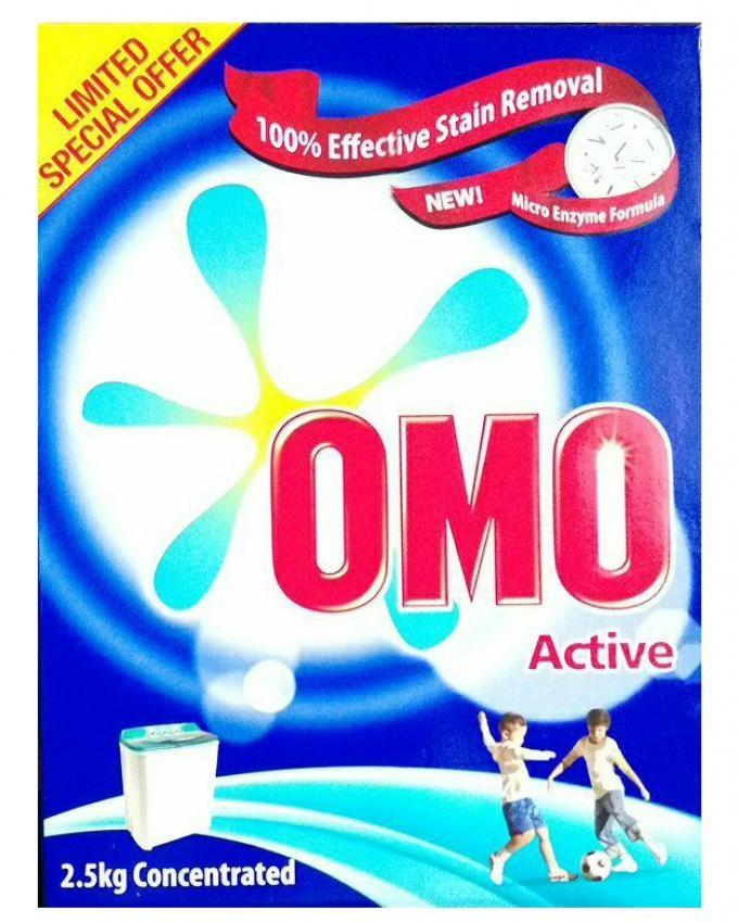 Active - Top-Load Detergent Powder - 2 5Kg Concentrated