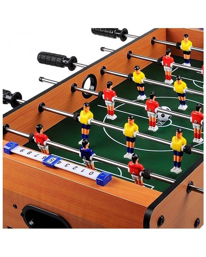 Wooden Soccer Football Game - 2035 - Brown