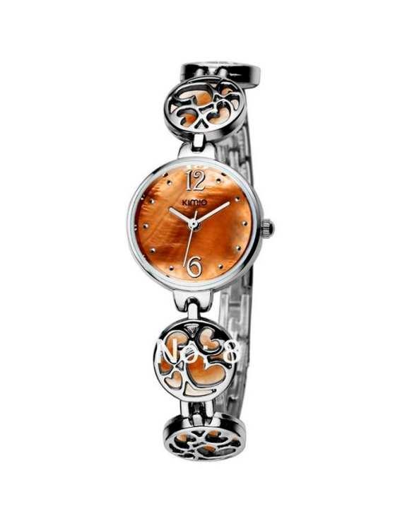 Orange Bracelet Watch for Women - Metal