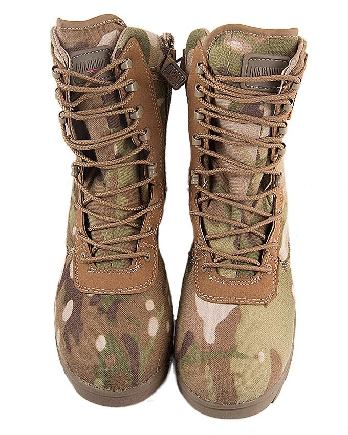Magnum camouflage jungle boots desert boots outdoor mountaineering boots - light-Green camo