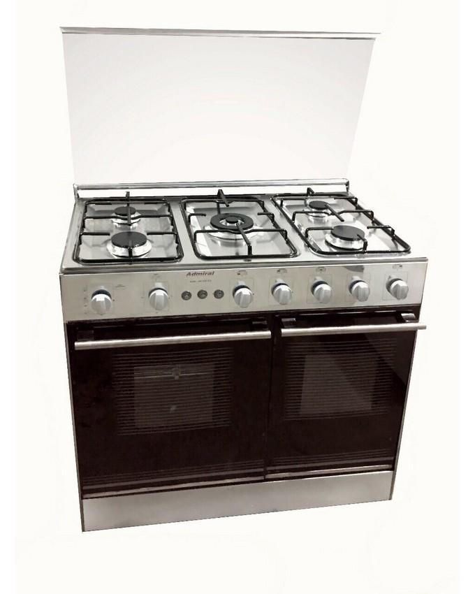 Admiral Cooking Range 5 Burners With Gl Cover 34 X 22