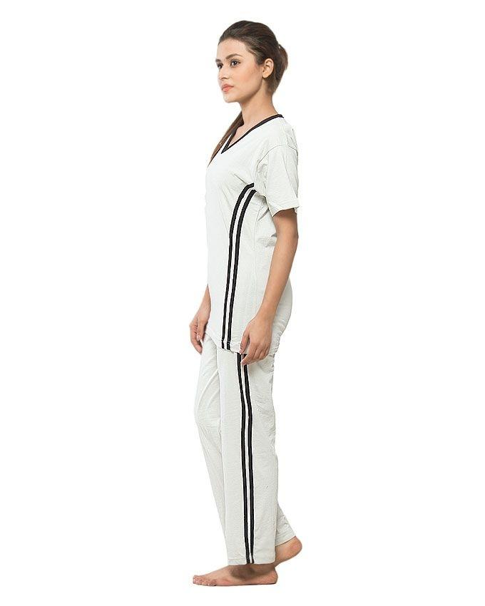 Pack of 2 - Offwhite Cotton Nightwear for Women