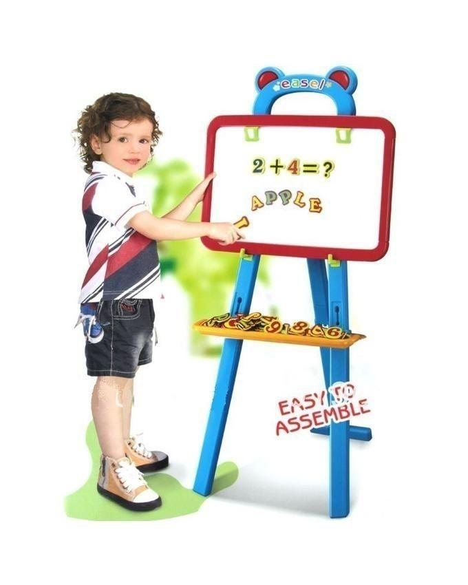3 in 1 - Learning Easel Board For Kids - Multicolour