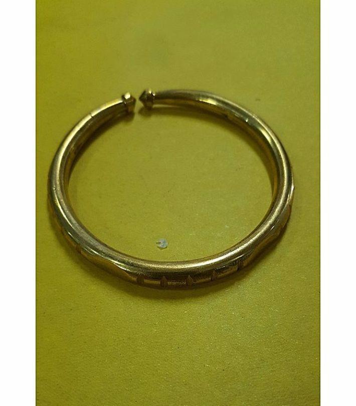 9992aa45900a5 Steel Bracelet For Men- Gold