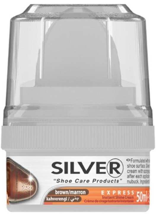 Instant Shine Shoe Cream (KS3001) - 50ML - BROWN