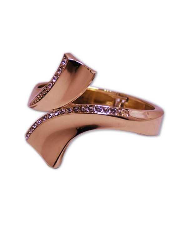 Stylish Shinning Bangle - Golden