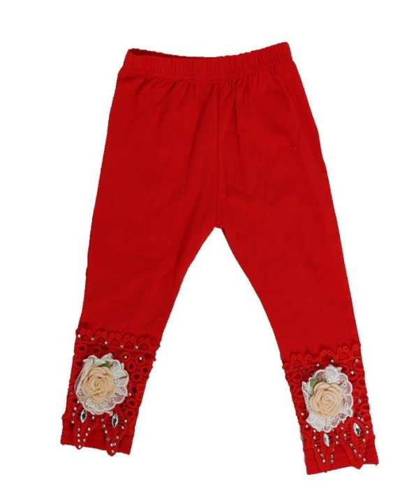 Red Fancy Tights For Girls