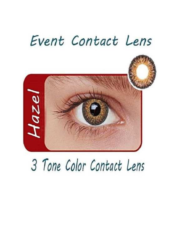 Event 3 Tone Contact Lenses Eye Wear Hazel