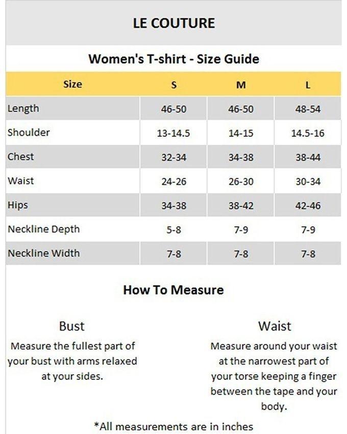 Black Cotton Plain T-Shirt for Women