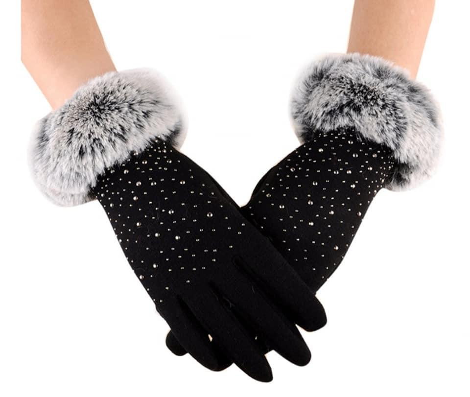 Touch Screen Winter Warm Full Finger Gloves