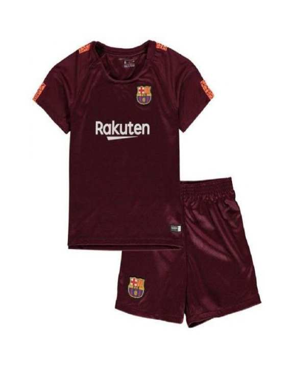 2018 Barcelona Away Football Shirt - Maroon