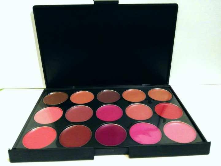 15 Colors Matte Lipstick Palette Waterproof