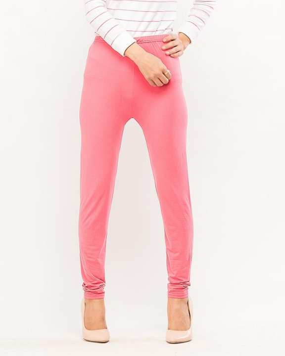 Shocking Pink Plain High Quality Fashion Tights for Girls - BDF-T8085-120