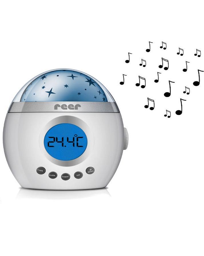 Reer My Magic Starlight Lullaby Sound Machine Night Light Projector