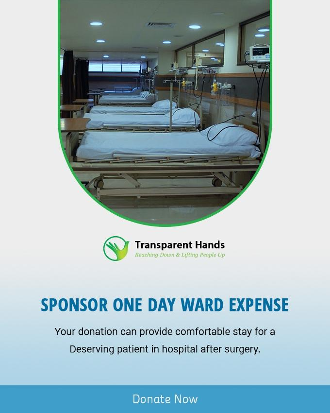 Sponsor 1 Day Ward Expense