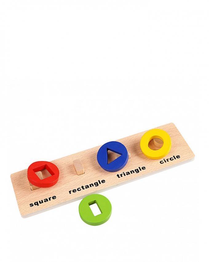 Geometrical Shape Board - Multicolor