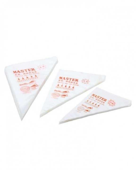 Disposable Icing Bag - 100 Pcs - White