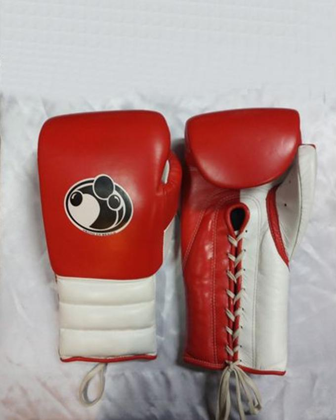 Boxing gloves leather 16 oz grant best and free mouth guard