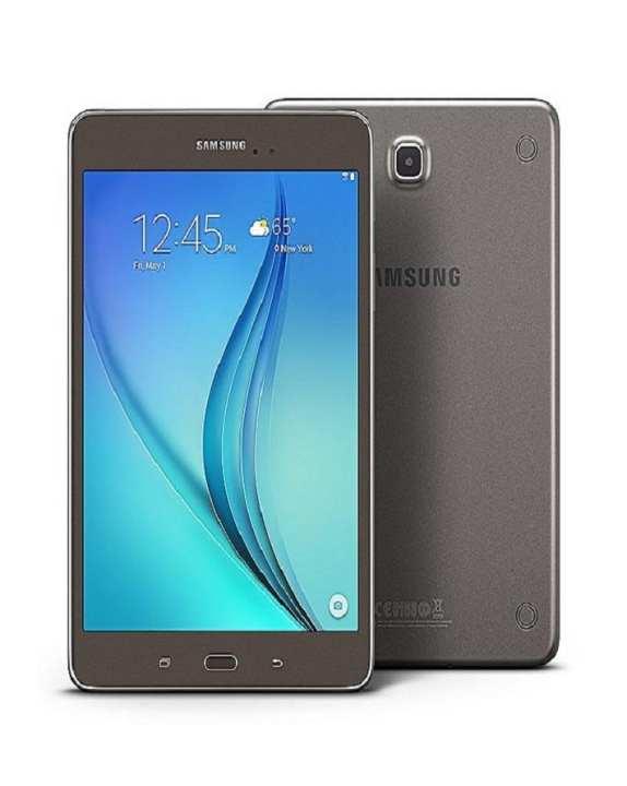 """Galaxy Tab A 8.0"""" 16Gb Smoky Titanium 4G Lte"""