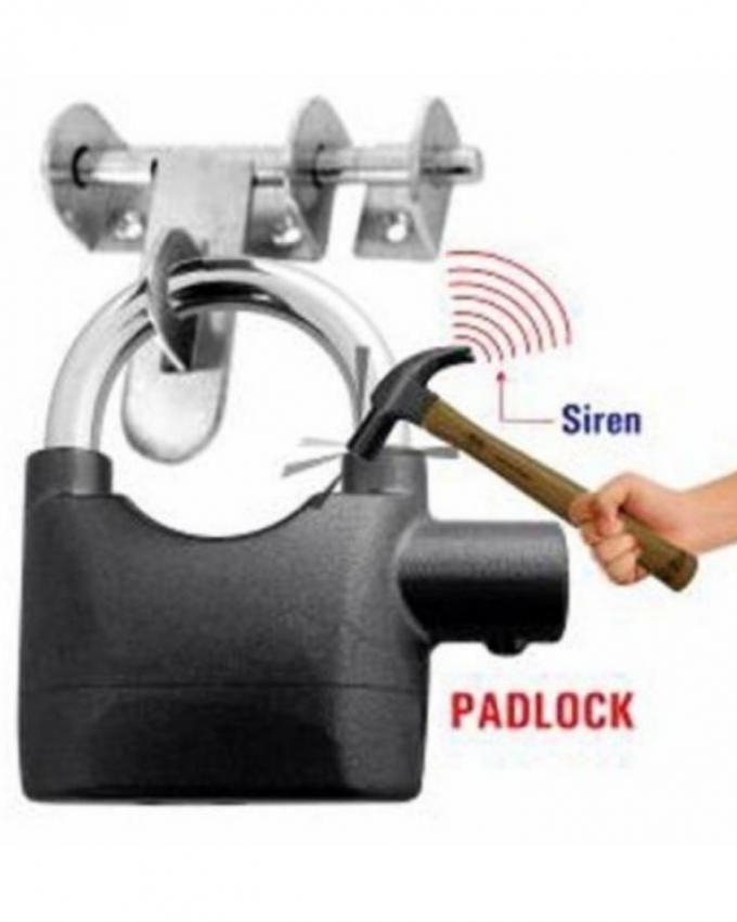 Smart Alarm Security Lock - Black