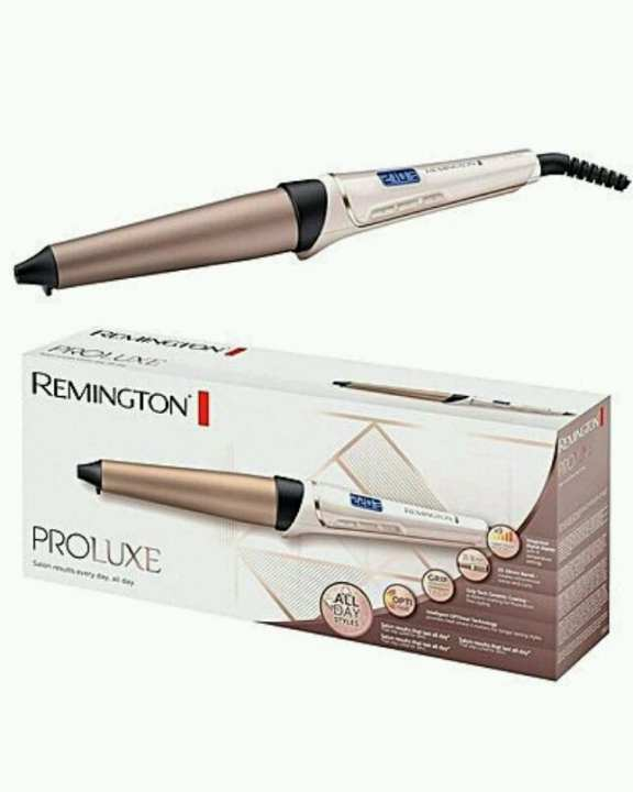 Remington CI91X1 curling iron PROluxe, conical, 25-38 mm, OPTIheat technology, rose gold