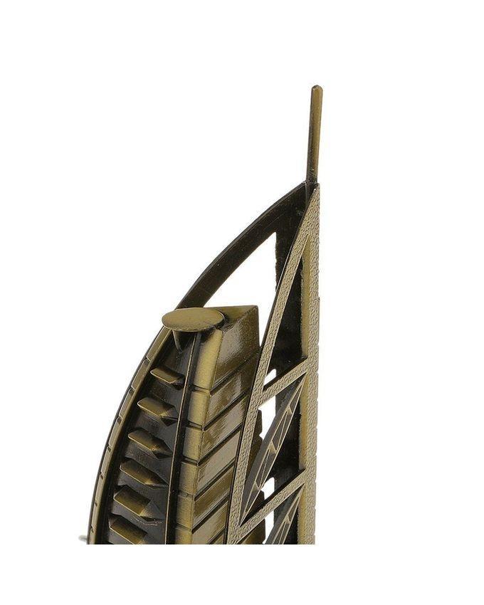 Famous Landmark Statue Burj Al Arab Model - Bronze