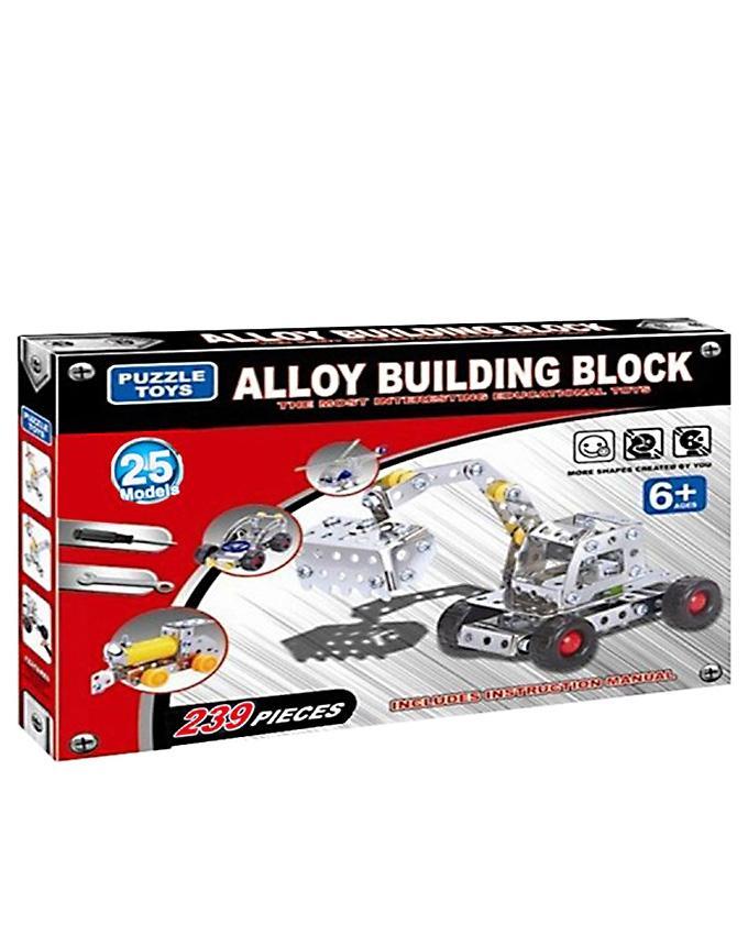 Mechanics Building Set - 30 Models - Multicolor