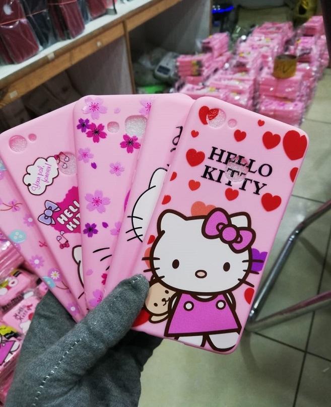 newest b3f63 cf9ec Oppo A71 Cartoon Kitty Case-Pink