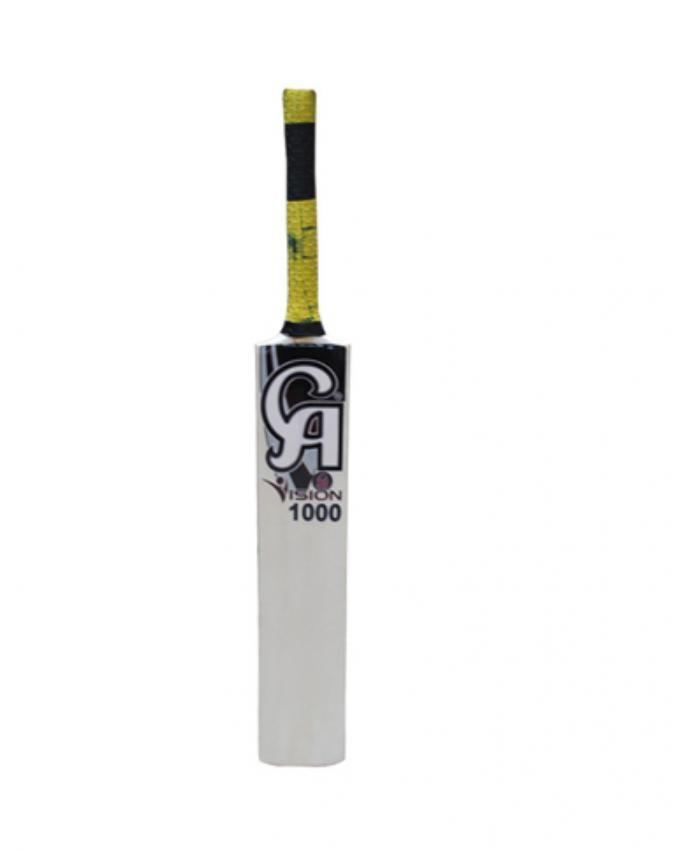 Vision 1000 Tape Ball Bat - White