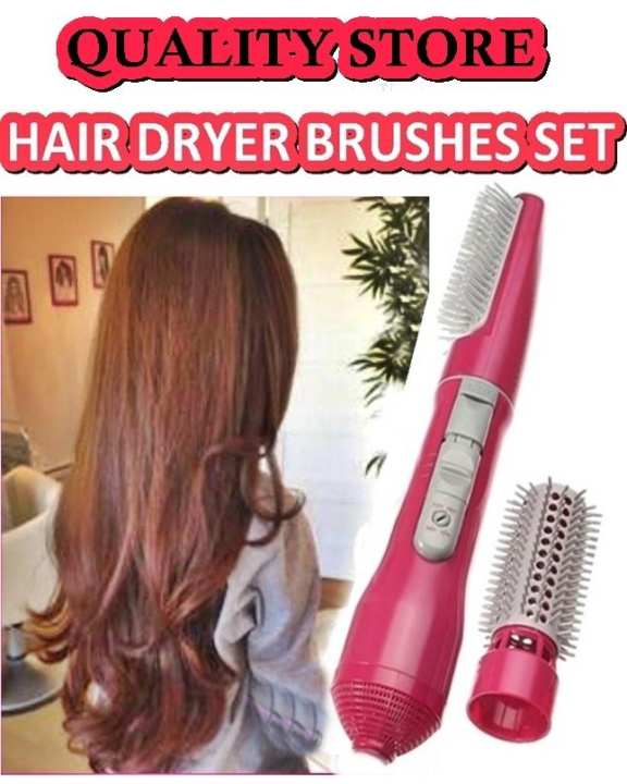 Blower Brush Hair Dryer Curly & Straighter Both Included Multi functioning - Nikura