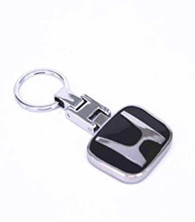 RS High Quality Honda Logo Metal Silver Car Key Chain