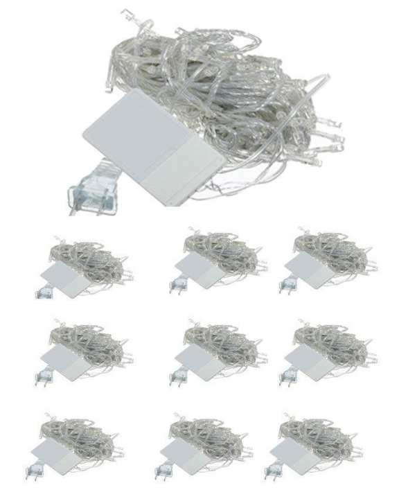 Pack of 10 - LED Fairy Lights - Multicolor