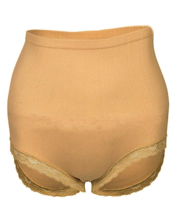 Beige Viscose  Panty For Women