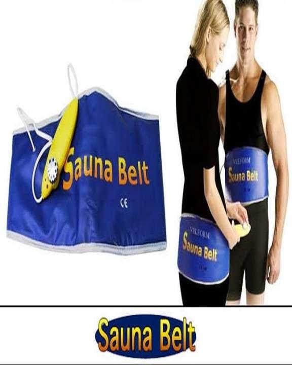 Automatic Electric VELFORM Sauna Belt Waist Trimmer Belt Waist Trimming Belt Hot Slimming Belt Hot Sona Belt Hot Slim Belt Weight Loss Belt Body Wrap Belt Belly Fat Belt